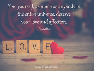Love Yourself. You Deserve It!