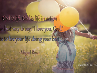 God Is Life!