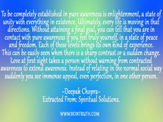 Are You Established In Pure Awareness?