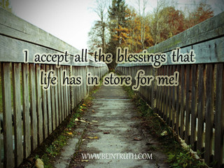 Life is full of blessings. Are you open to yours?