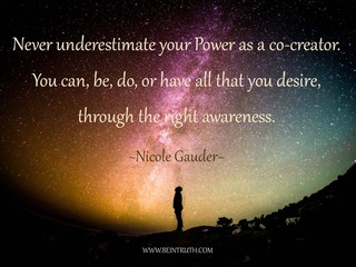 Never Underestimate Your Power!