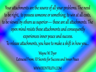 Your Attachments Are The Root Of Your Problems.