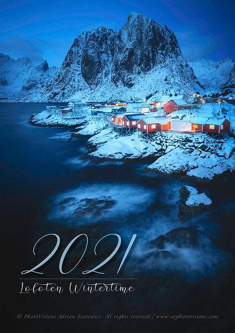 A3 Premium Wall Calendar 2021
