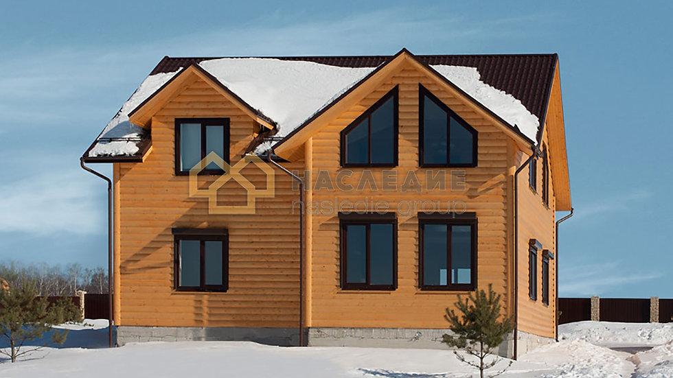 Каркасный дом в с.п. Алексеевское