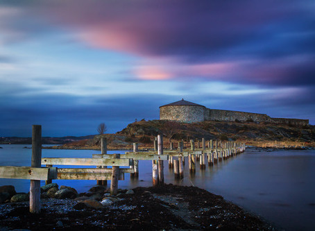 Steinvikholmen - stone Viking's* castle on island