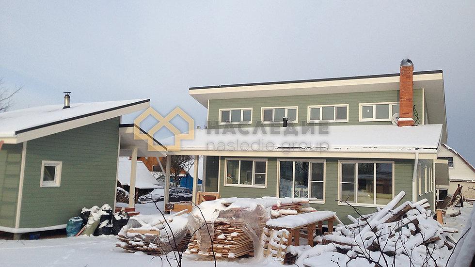Каркасный дом в д. Крючково