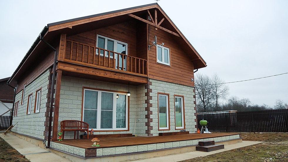 Каркасный дом в д. Сычево