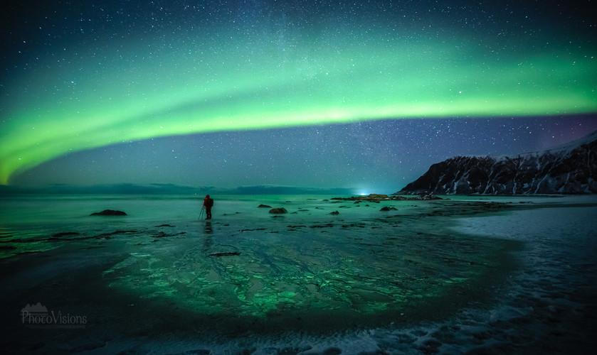 Aurora over Skagsanden