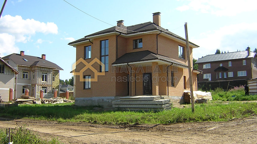 Дом из керамического кирпича в Лыткарино
