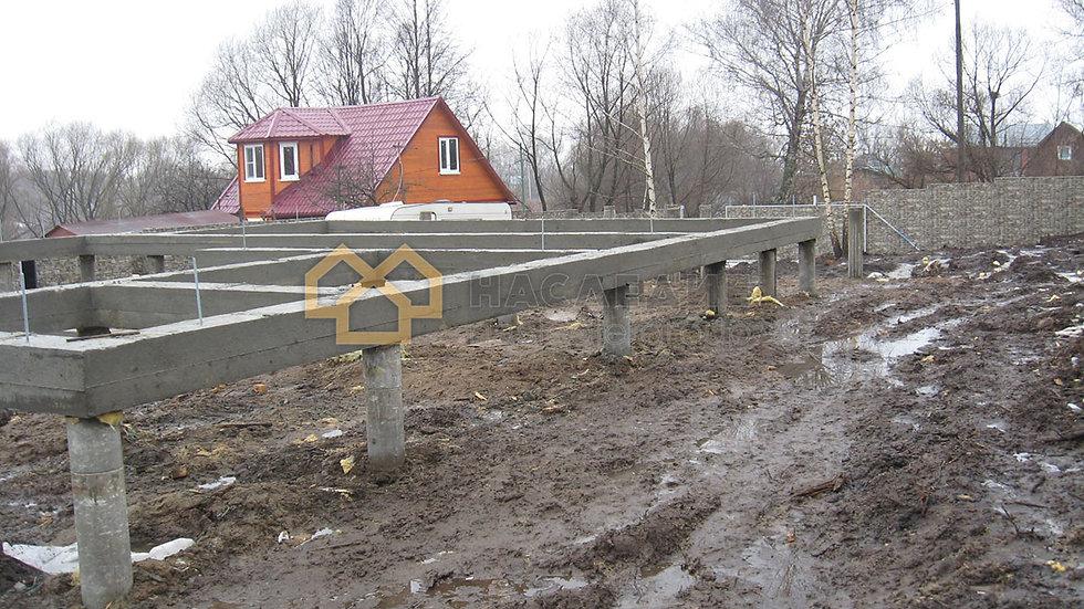 Каркасный дом в д. Захарово