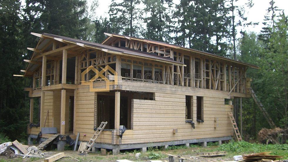Каркасный дом в г.п. Снегири