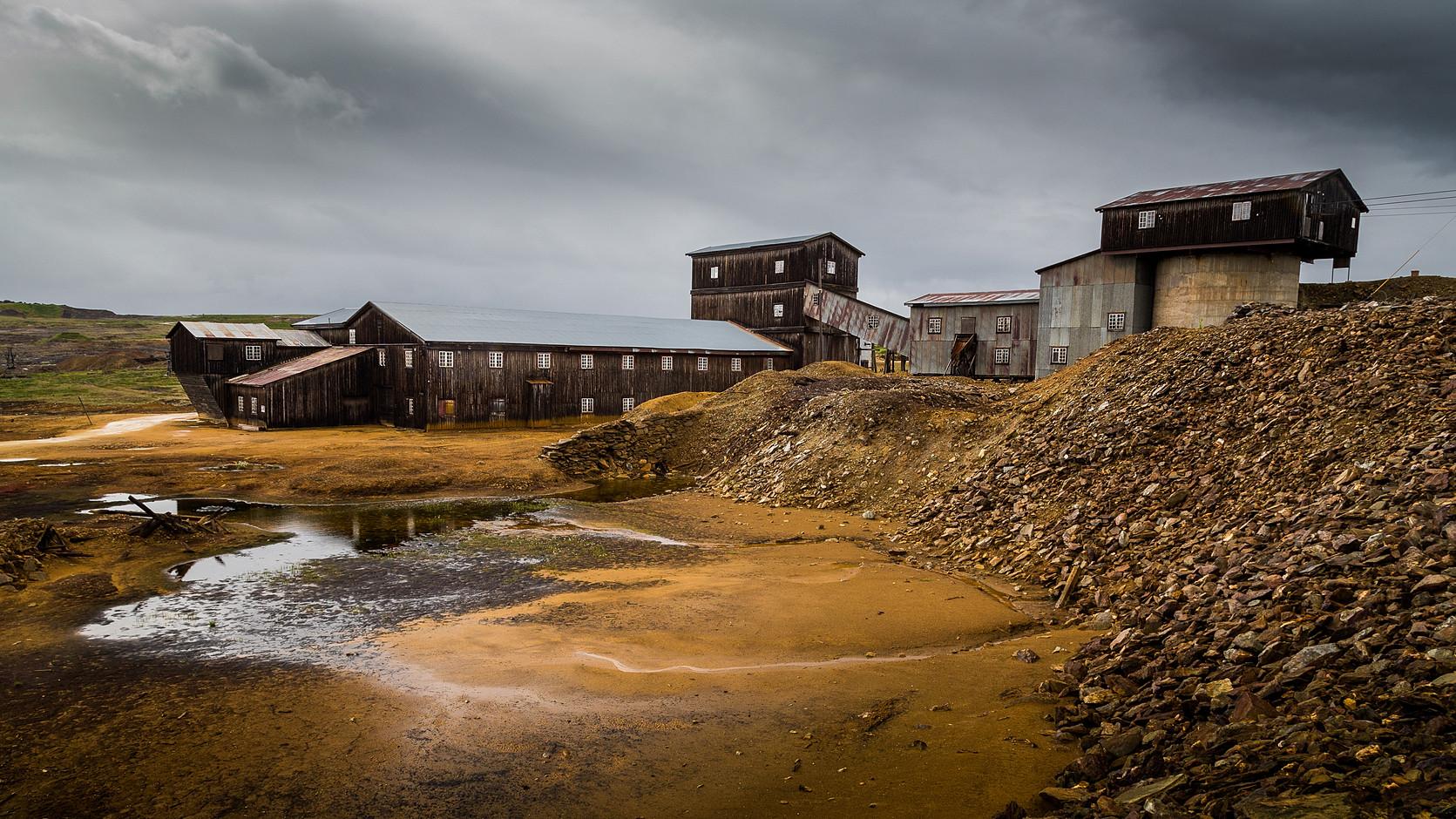 Copper mine Gamle Storwartz