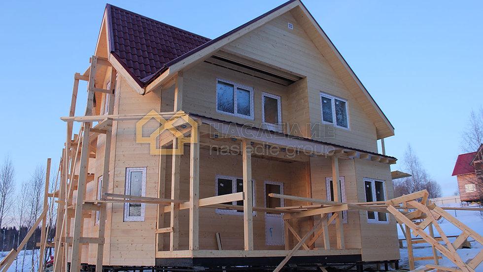 Каркасный дом в д. Онуфриево