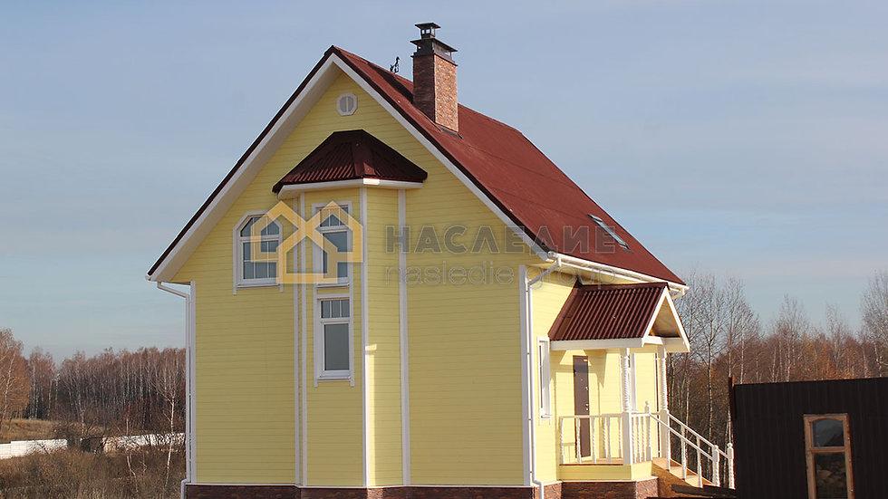 Каркасный дом в д. Михайловское
