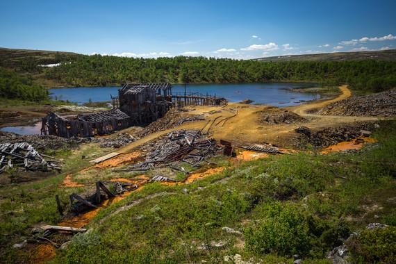 Summer in Nordgruvefeltet