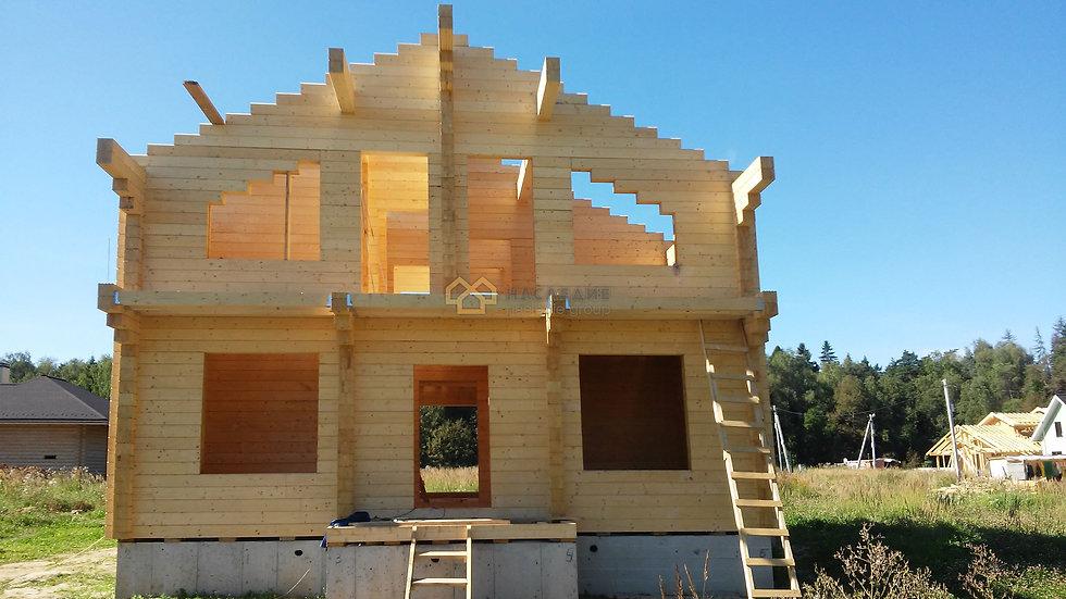 Дом из клееного бруса в д. Мансурово 187м2