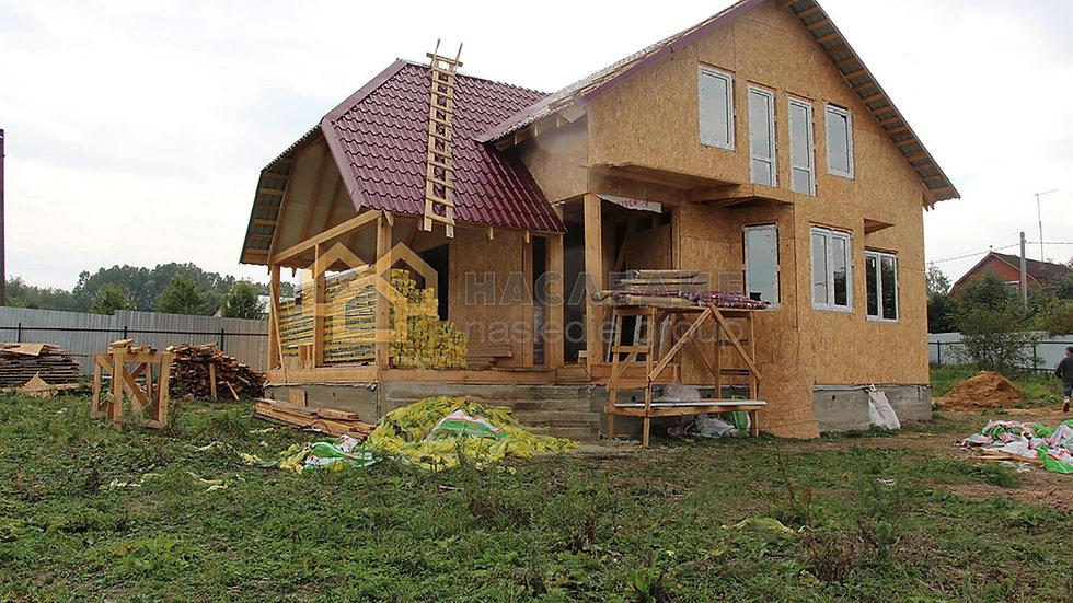 Каркасный дом в д. Серебряные Пруды 146м2