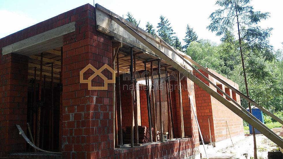 Дом из керамического кирпича в д. Беседы