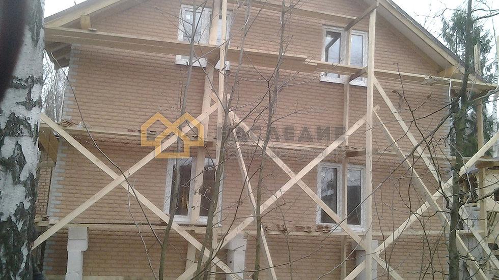 Дом газобетонных блоков в г.о. Апрелевка