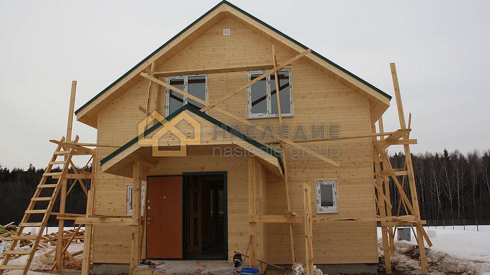 Каркасный дом в д. Юсупово