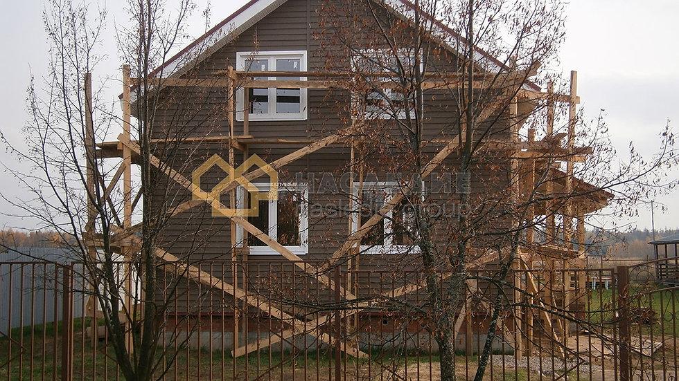 Каркасный дом в д. Денисиха
