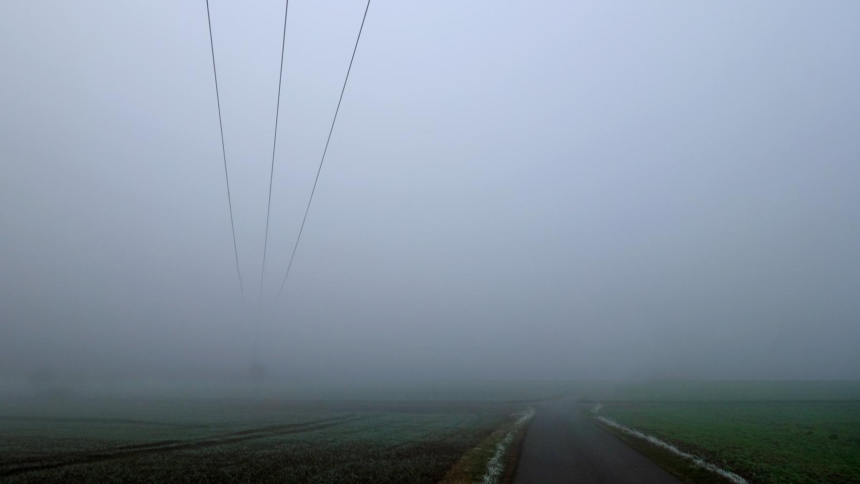 Spuren im Nebel