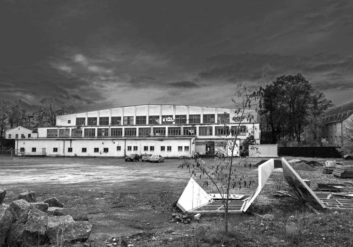 Würzburg, verlassenes, ehemaliges amerikanisches Gelände
