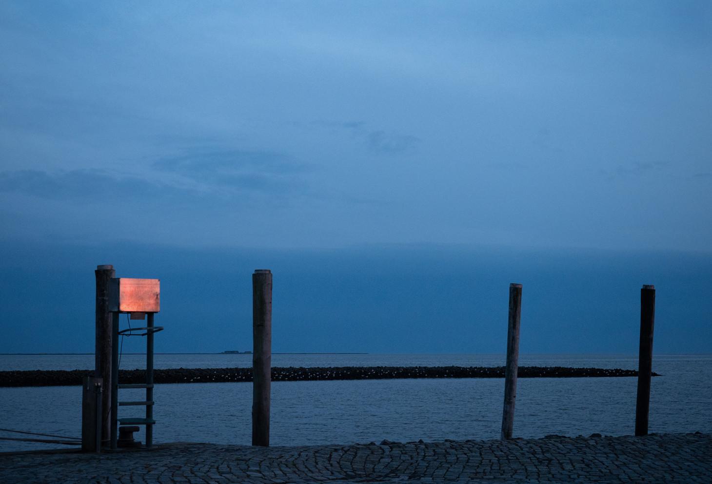Letztes Leuchten nach Sonnenuntergang