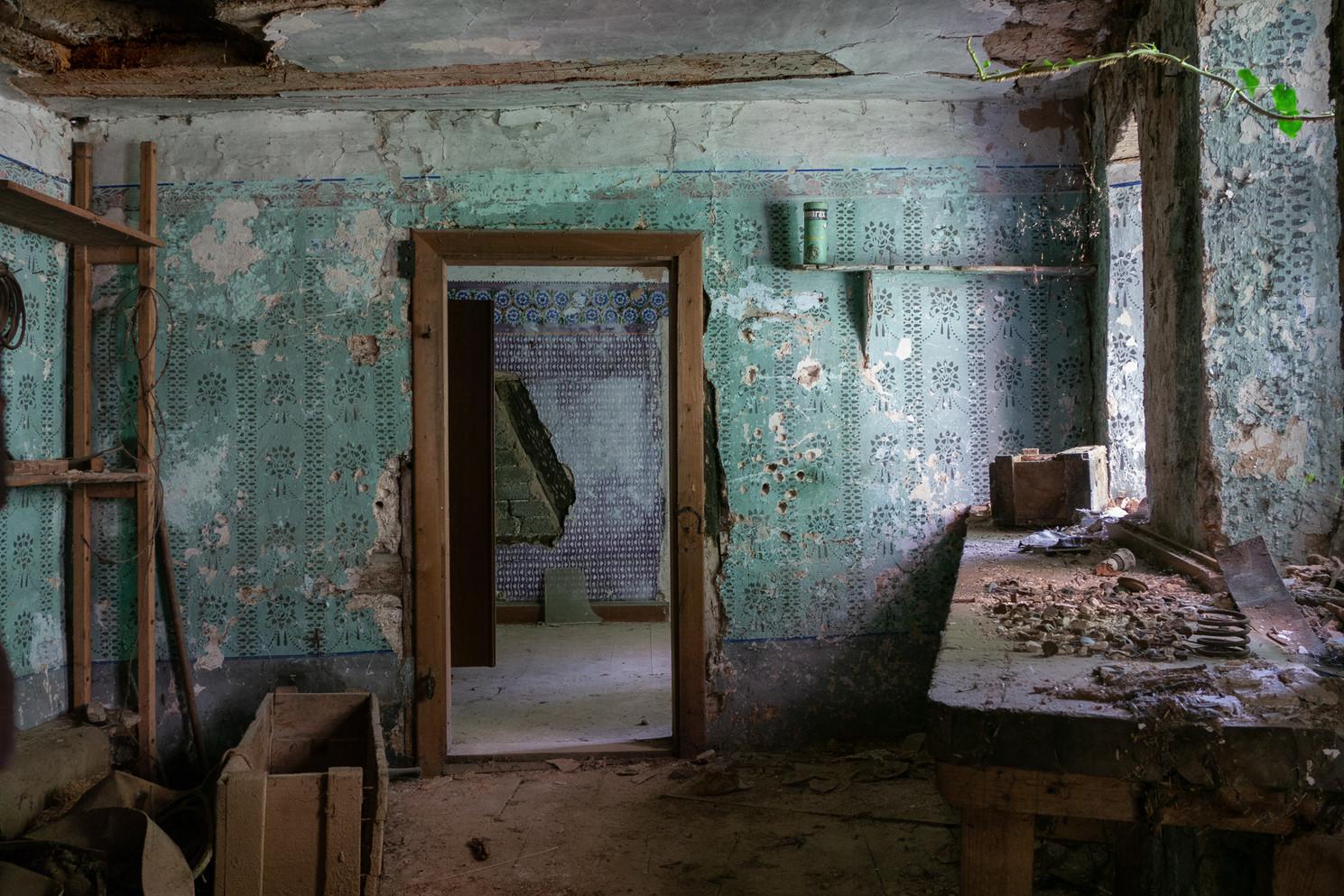 Lost Place, alte Mühle