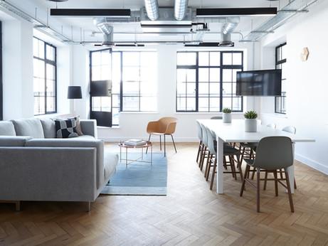 Sala de reunión moderna
