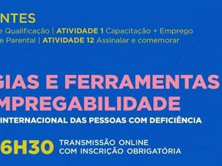 """Agenda: Workshop """"Estratégias e Ferramentas para a Empregabilidade"""""""