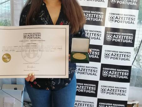 SAOV conquista ouro no Concurso Nacional de Azeites de Portugal