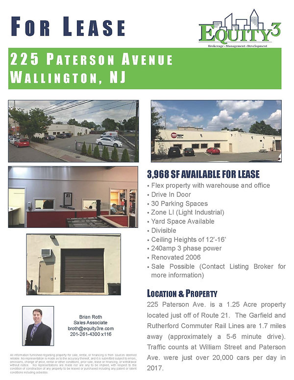 225 Paterson Ave. Marketing Flyer reduce