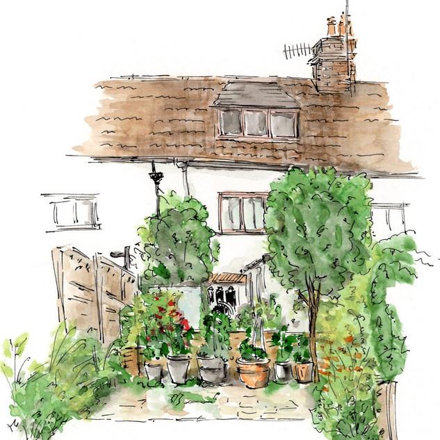 Beautiful Kitchen Garden in EG