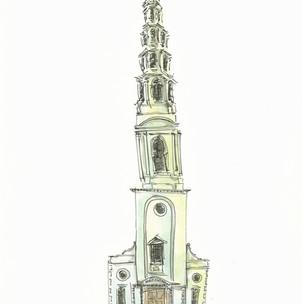St Brides Church in Fleet Street