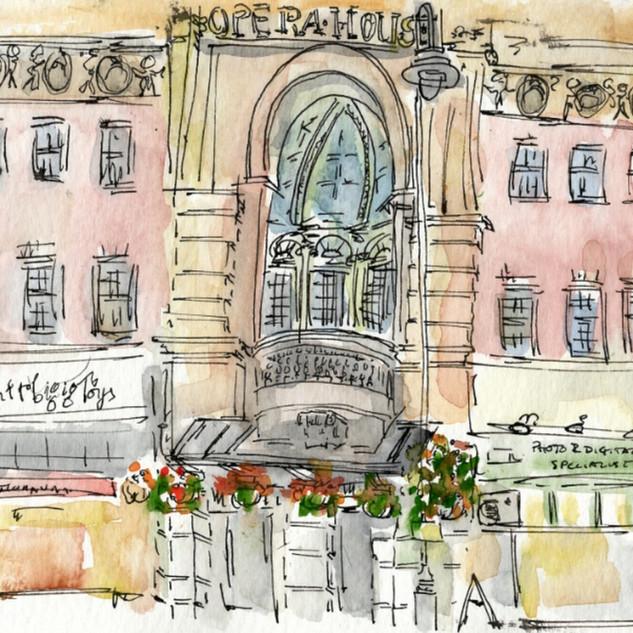 Tunbridge Wells Opera House closeup