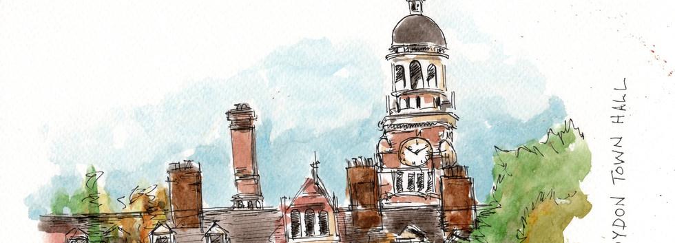CR016 Croydon Town Hall