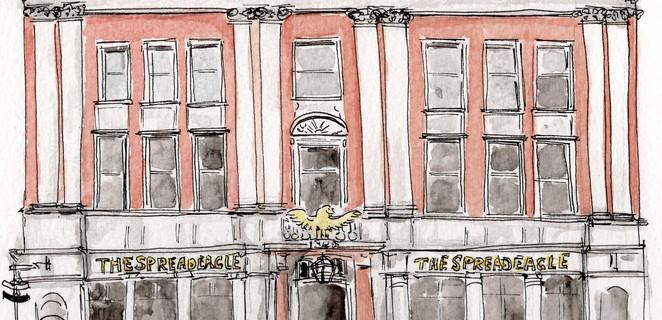 CR002 The Spread Eagle Pub