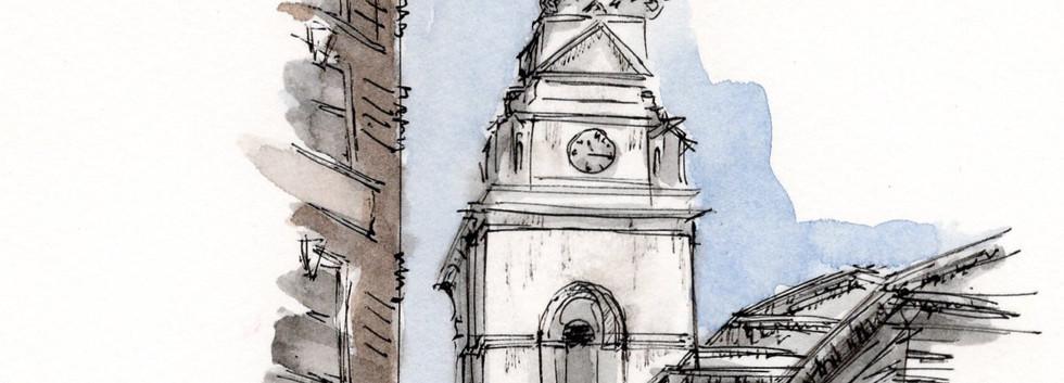 Lon015 Holborn Church Steeple