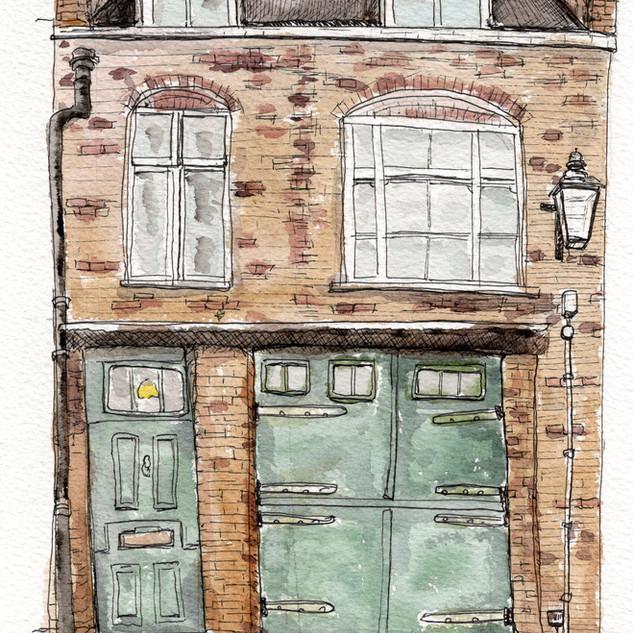 Mews House in Camden