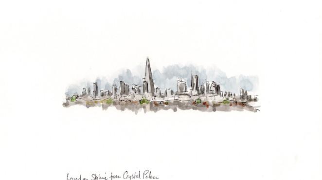Lon004 Skyline from Crystal Palace
