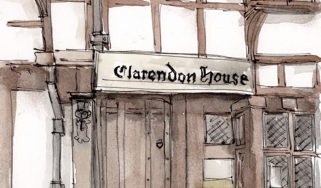 EG007 Clarenden House Close Up