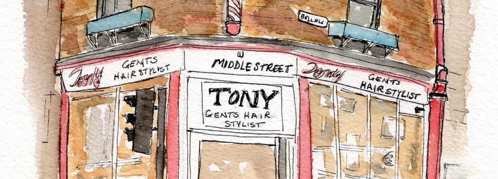 CR005 Tony's Hairdressers
