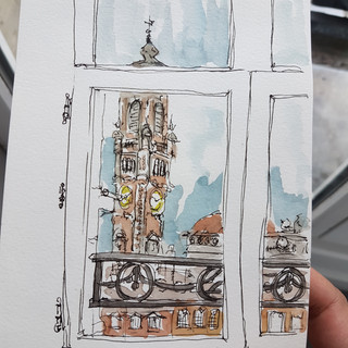 Lille Hotel Window