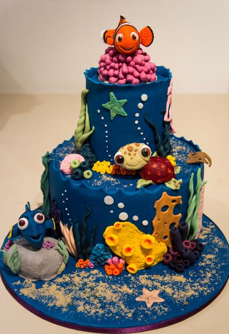 Under the sea cake.