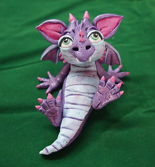 Sugar Dragon cake topper for classes