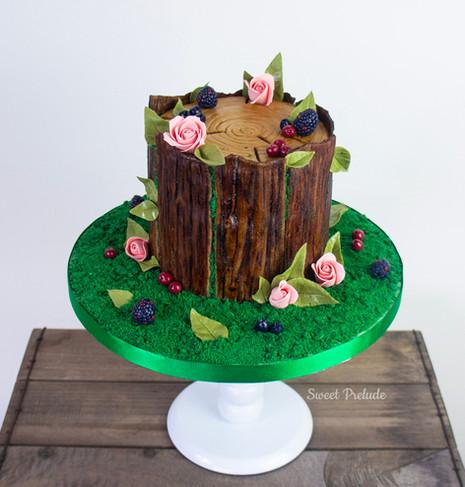 Bespoke tree cake