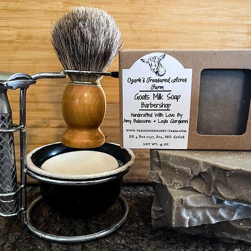 Barbershop Goats Milk Soap