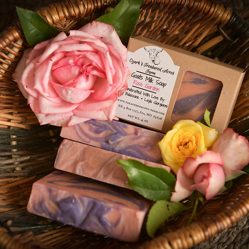 Rose Garden Goats Milk Soap