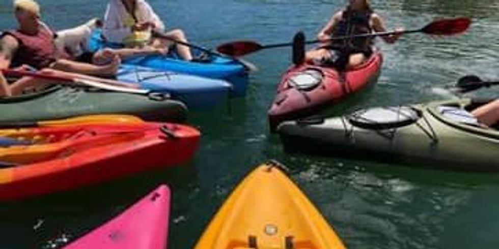 Kayaking Whiskeytown Lake